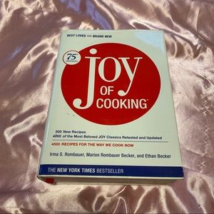 The Joy of a Cooking Book 75th Anniversary